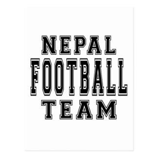 Nepal Football Team Postcard