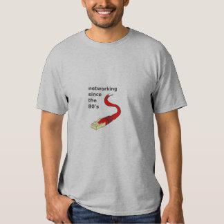 Networking (light) tee shirts