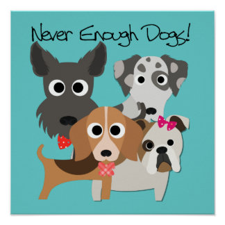 Never Enough Dogs Poster