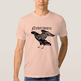 Nevermore Poe Tee Shirts