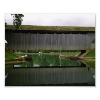New Brownsville Covered Bridge Photo Art