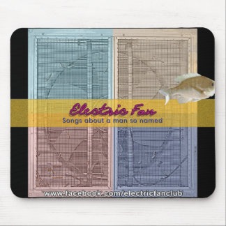 NEW! Electric Fan Mousepad with fish!