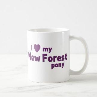 New Forest pony Basic White Mug
