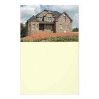 new home construction 14 cm x 21.5 cm flyer