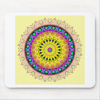 New Linear Soft Sand Yellow Blue Mouse Pad