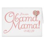 New Obama Mama 2009 Gear Greeting Card