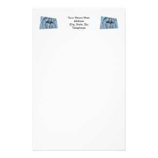 New Orleans Greys Flag Customized Stationery