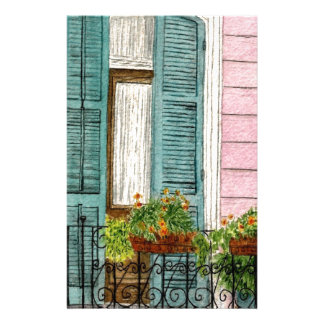 New Orleans Shutters Personalised Stationery