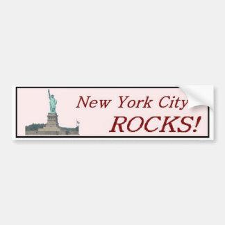 New York City Rocks! Bumper Sticker