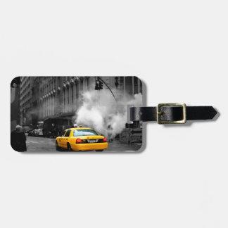 New York City Yellow Cab Travel Bag Tag