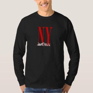 New York NY Skyline Logo Design Tshirt