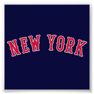 New York Versus Boston Rivals Photographic Print