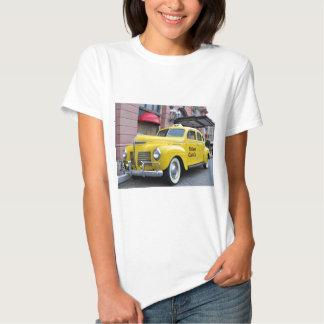 New York Yellow Vintage Cab Tee Shirts