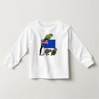 New Zealand Birdorables Toddler T-Shirt