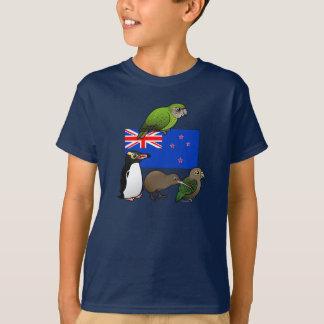 New Zealand Birdorables Tshirt