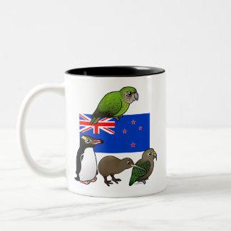 New Zealand Birdorables Two-Tone Mug