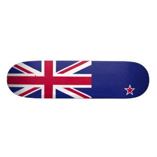 New Zealand Flag 21.3 Cm Mini Skateboard Deck