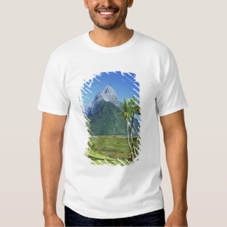 New Zealand, South Island,  Mitre Peak, T-shirts