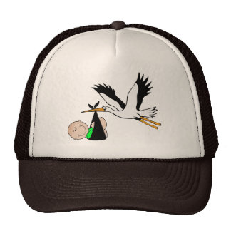 Newborn Delivery by Stork Cap