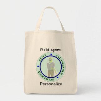 Newt Salamander Association Tote Grocery Tote Bag