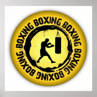 Nice Boxing Seal Poster