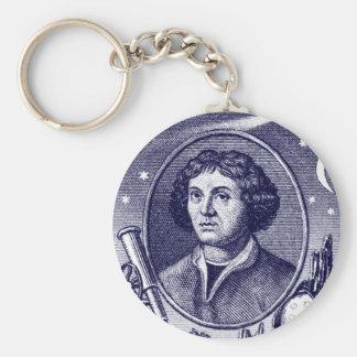 Nicolaus Copernicus Basic Round Button Key Ring