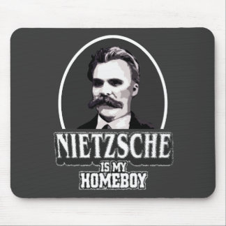 Nietzsche Is My Homeboy Mouse Pad