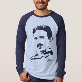 Nikola Tesla Rules! Navy Tshirts