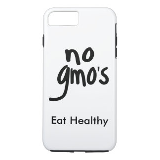 """No GMO's Eat Healthy White with Black Promotion iPhone 7 Plus Case"