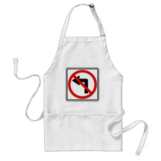 No Left Standard Apron