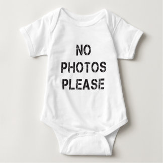No Photos Please Infant Creeper