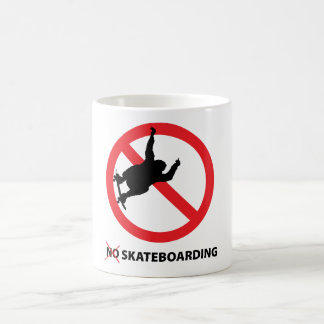 No Skateboarding  Regulatory Restrictions Mug