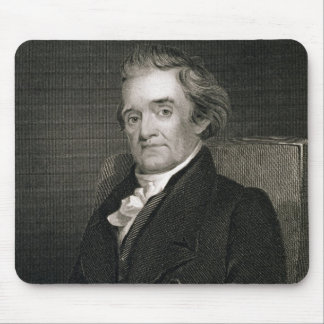 Noah Webster (1758-1843) engraved by Frederick W. Mouse Pad