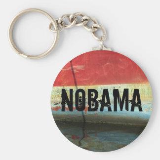 NOBAMA BASIC ROUND BUTTON KEY RING