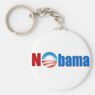 Nobama - No Obama Basic Round Button Key Ring