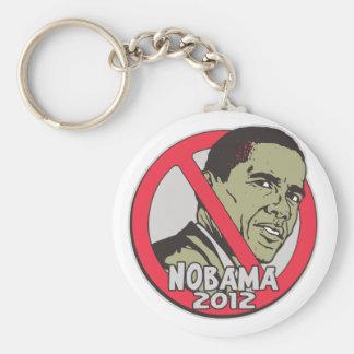 Nobama Shirts and Gift Ideas Basic Round Button Key Ring