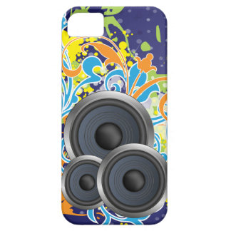 non stop music stylish with speakers iPhone 5 covers