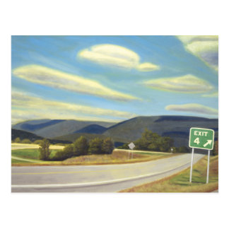 Noonlight in Vermont Postcard