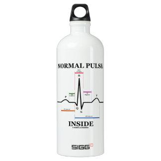 Normal Pulse Inside (ECG/EKG Electrocardiogram) SIGG Traveller 1.0L Water Bottle