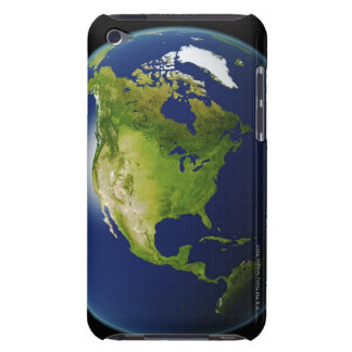 North America Seen from Space 2 iPod Case-Mate Cases