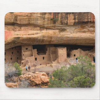 North America, USA, Colorado. Cliff dwellings Mouse Pad