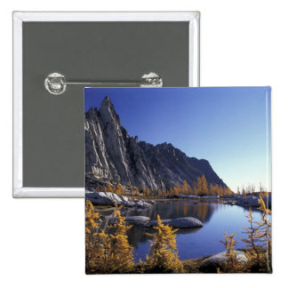 North America, USA, Washington, Enchantment 15 Cm Square Badge