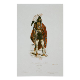 North American Indian Poster