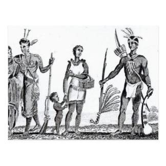 North American Indians Postcard