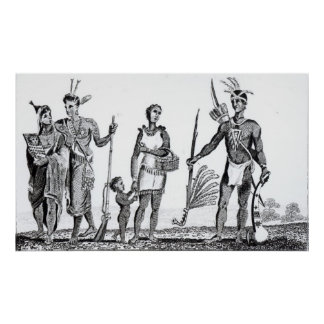 North American Indians Poster
