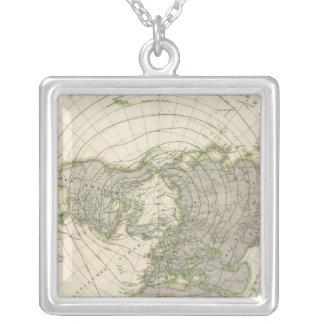 Northern Hemisphere 3 Square Pendant Necklace