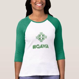 Northern Ireland #GAWA top Tee Shirt