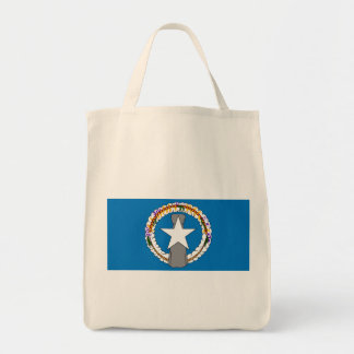 northern mariana islands grocery tote bag