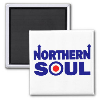 Northern Soul Scooter Mod Square Magnet