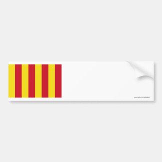 Northumbria Flag Bumper Sticker